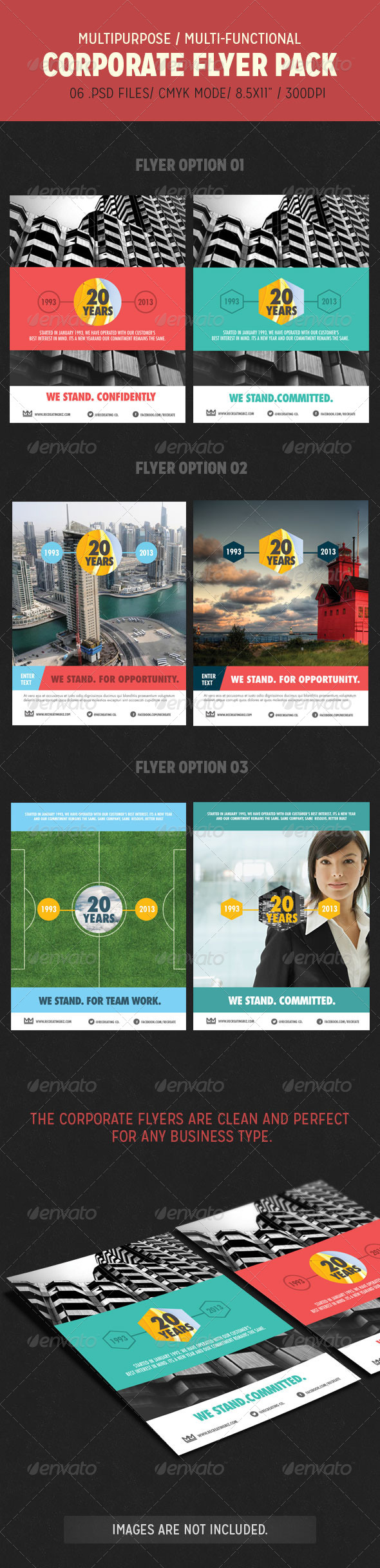 GraphicRiver Corporate Flyer Pack 4611710
