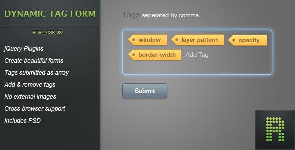 CodeCanyon Dynamic Tag Form - Rip 482498