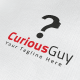 Curious Guy Logo - GraphicRiver Item for Sale