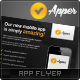 Apper - Mobile App Promotion Flyer - GraphicRiver Item for Sale