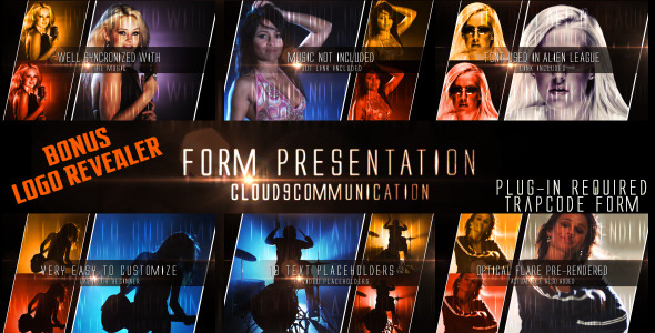 After Effects Project - VideoHive Form Presentation with Bonus Logo Formati ...
