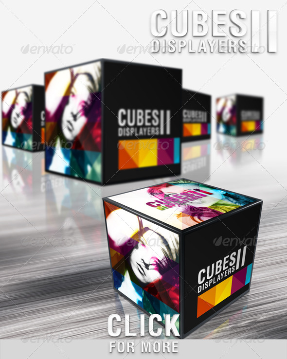 GraphicRiver Cubes Displayers II 484103