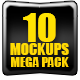 10 Web Showcase MockUps Mega Pack - GraphicRiver Item for Sale