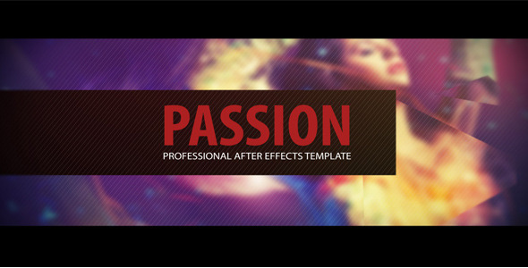 After Effects Project - VideoHive Passion 485070
