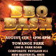 BBQ Bash Event Flyer Template - GraphicRiver Item for Sale