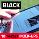 10 Black High Quality Tablet Mock-Ups - GraphicRiver Item for Sale