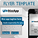 BizzApp Flyer Template in 4 Color Variations - GraphicRiver Item for Sale
