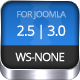 WS-None | Responsive & Clean Joomla Template - ThemeForest Item for Sale