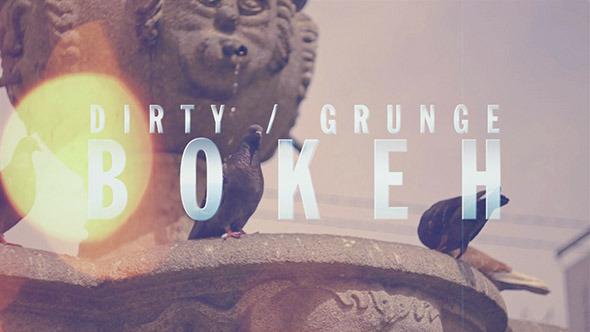 Dirty / Grunge Bokeh
