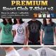 Premium Sport Club T-Shirt V2 Template - GraphicRiver Item for Sale