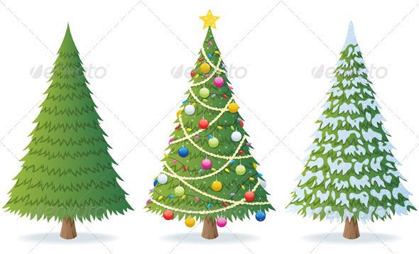GraphicRiver Christmas Tree 488046