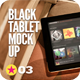 Black Pad | Tablet App Scenes UI Mock-Up V2 - GraphicRiver Item for Sale