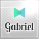 Gabriel - Responsive E-mail Template - ThemeForest Item for Sale