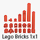 Lego Bricks 1x1 - 3DOcean Item for Sale