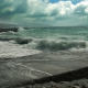 Waves Crashing On The Shore - VideoHive Item for Sale