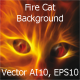Fire Cat Background - GraphicRiver Item for Sale