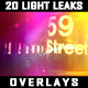 20 Light Leaks Overlays - VideoHive Item for Sale