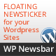 WP Newsbar - Wordpress Floating News bar - CodeCanyon Item for Sale