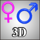 Gender Symbols - ActiveDen Item for Sale