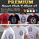 Premium Sport Club T-Shirt V7 Template - GraphicRiver Item for Sale