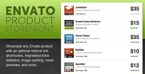 CodeCanyon Envato WP Product Storefront