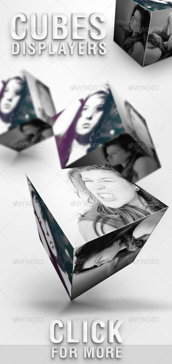 GraphicRiver Cubes Displayers 461150