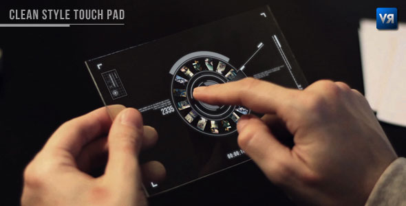 After Effects Project - VideoHive Clean style touch pad 494978