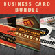 Grunge Business Cards Bundle - GraphicRiver Item for Sale