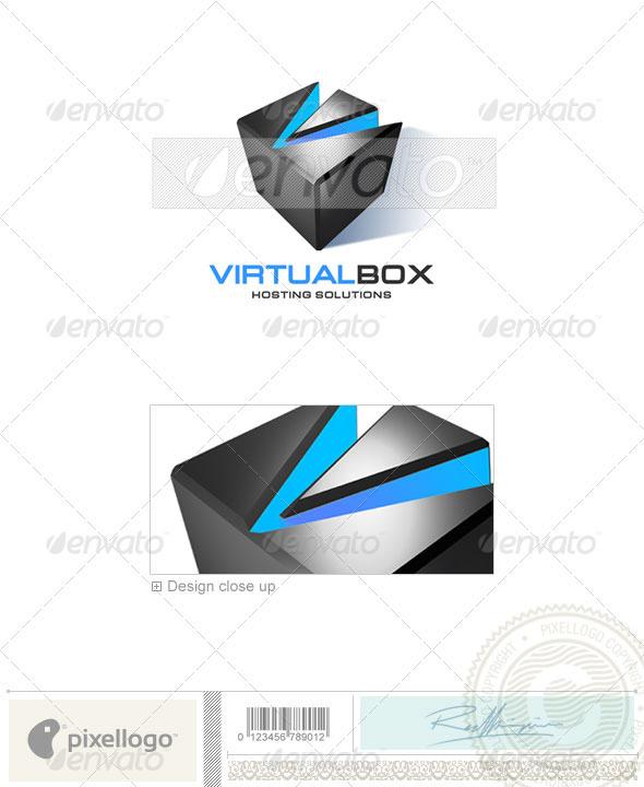 GraphicRiver Technology Logo 3D-117 496497