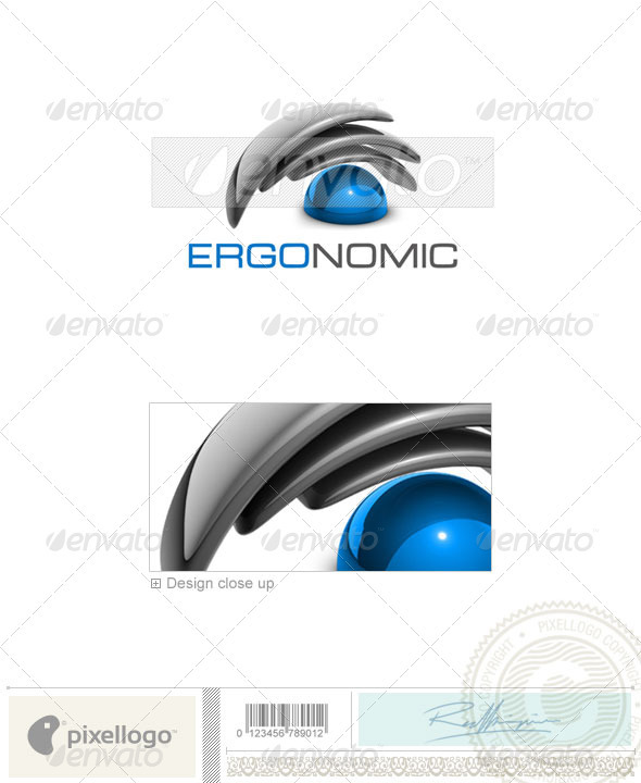 GraphicRiver Technology Logo 3D-414 496504