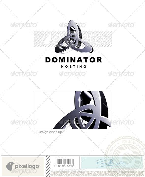 GraphicRiver Technology Logo 3D-74 496519