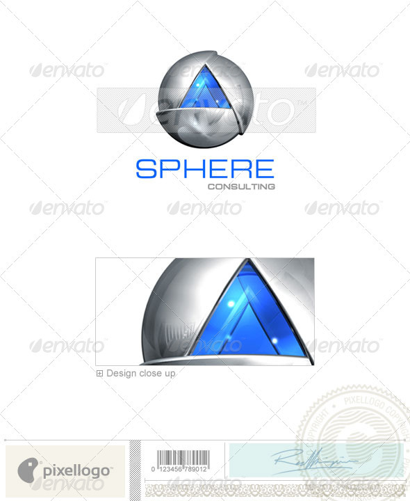 GraphicRiver Communications Logo 3D-144 496550