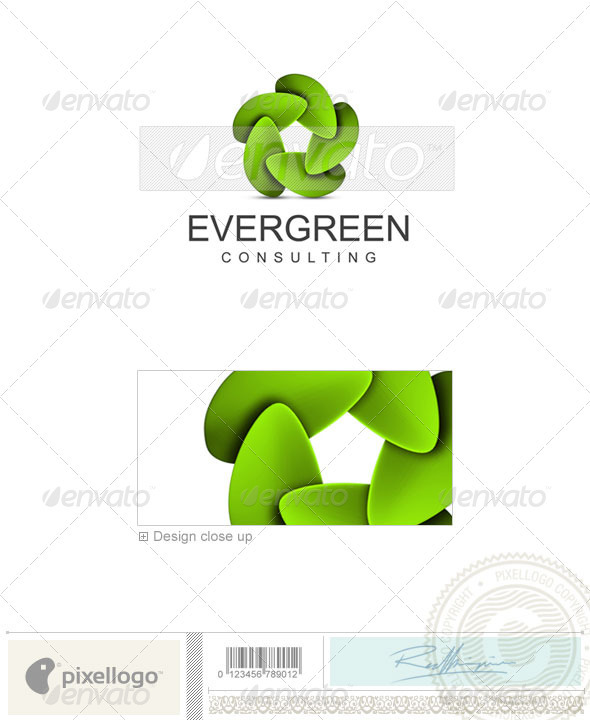 GraphicRiver Nature & Animals Logo 3D-315 496568