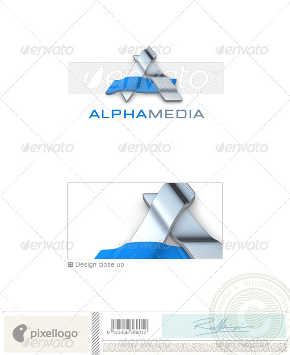 GraphicRiver Activities & Leisure Logo 3D-337 496590