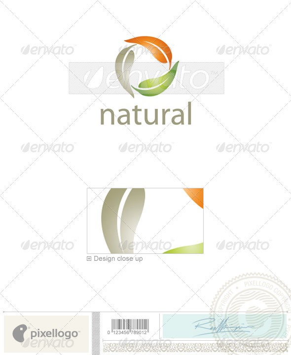 GraphicRiver Nature & Animals Logo 2080 496597