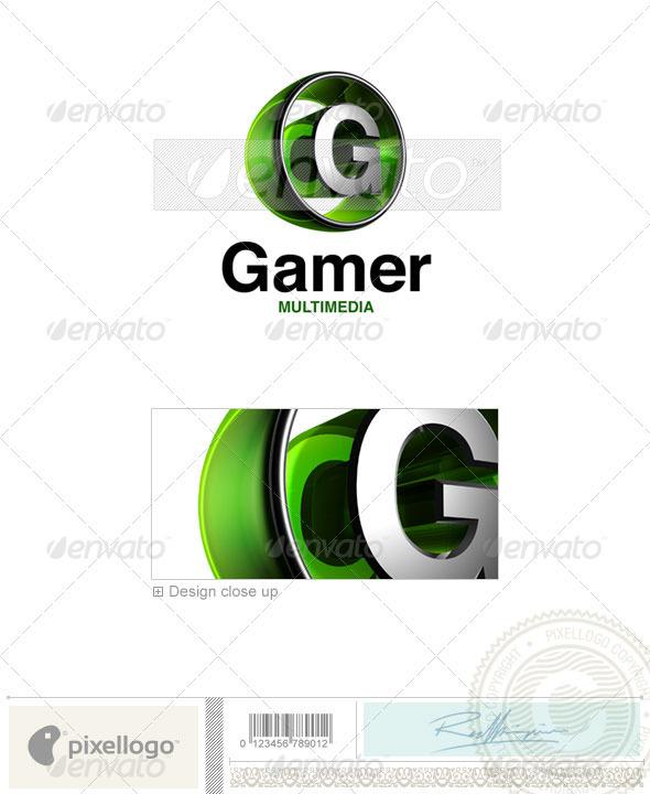 GraphicRiver G Logo 3D-438-G 496637