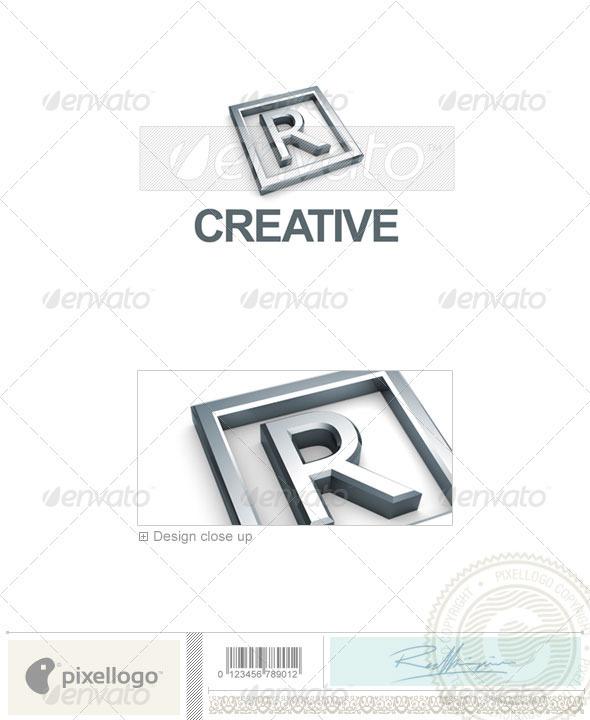 GraphicRiver R Logo 3D-295-R 496662