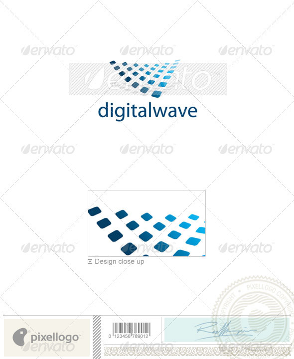 GraphicRiver Technology Logo 2083 496670