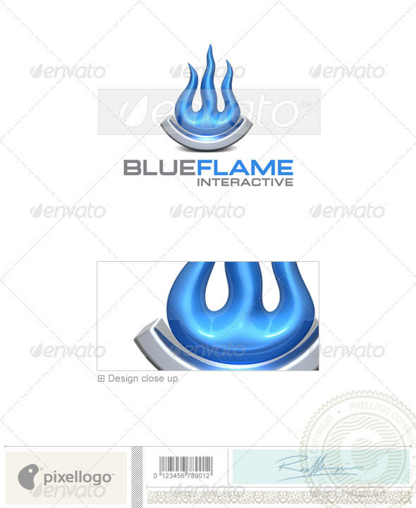 GraphicRiver Industry & Science Logo 3D-324 496673