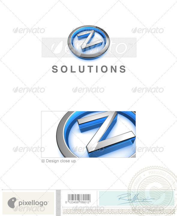 GraphicRiver Z Logo 3D-683-Z 496680