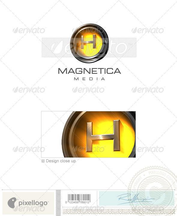 GraphicRiver H Logo 3D-238-H 496681