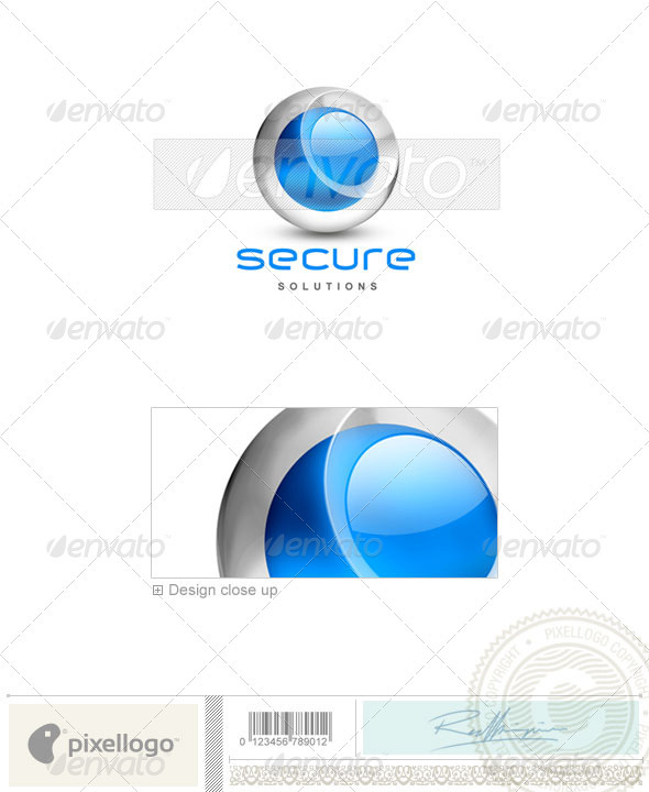 GraphicRiver Technology Logo 3D-333 496726