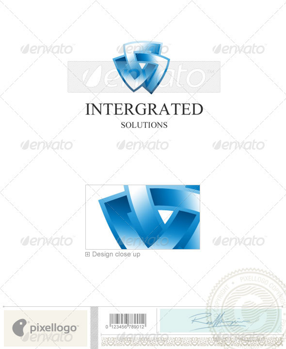 GraphicRiver Technology Logo 1197 496731