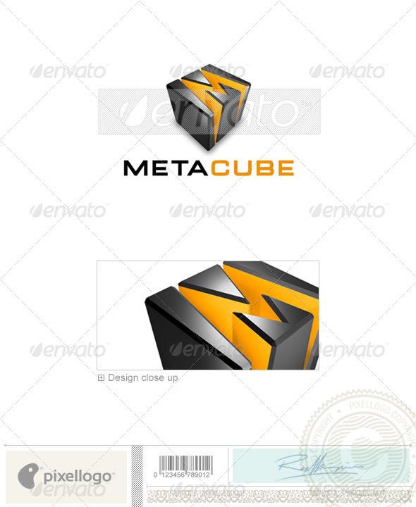GraphicRiver Technology Logo 3D-339 496747