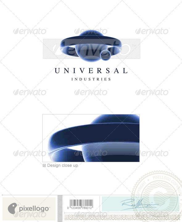 GraphicRiver Communications Logo 3D-110 496763