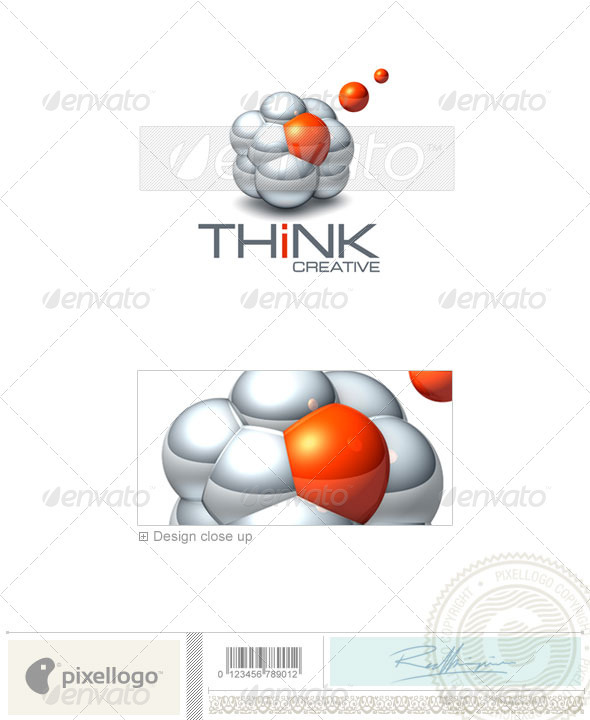 GraphicRiver Technology Logo 3D-430 496784