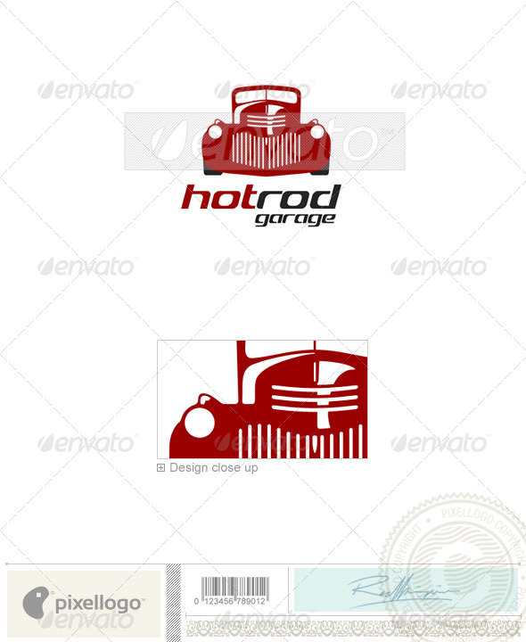 GraphicRiver Transport Logo 1455 496794