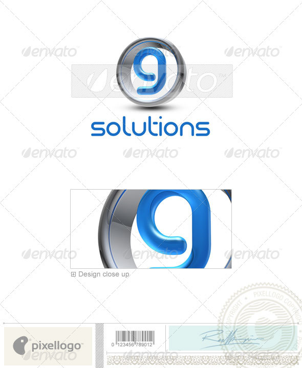 GraphicRiver G Logo 3D-288-G 496801