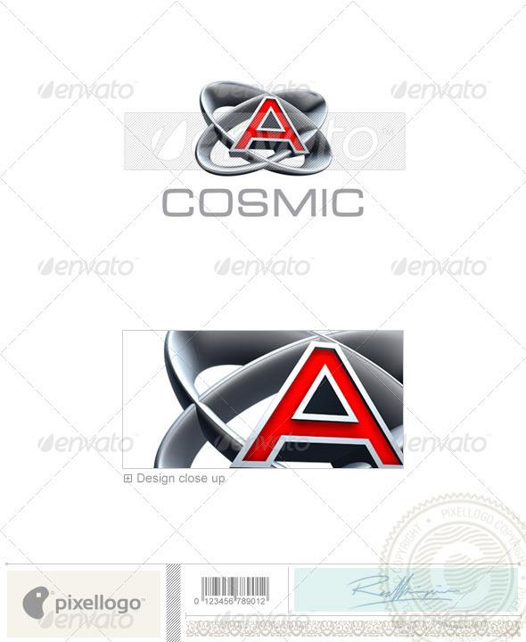 GraphicRiver A Logo 3D-348-A 496816