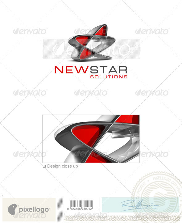 GraphicRiver Business & Finance Logo 3D-294 496817